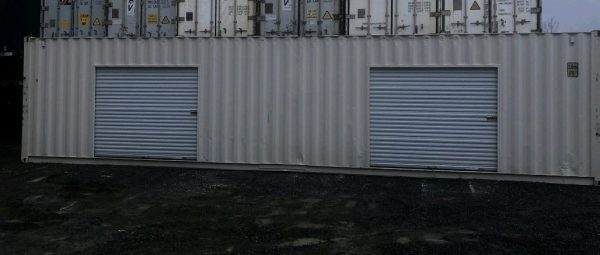 container roll up garage doors